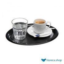 """Dienblad """"kaffeehaus"""", zwart, 28×21,5 cm"""