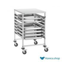 Chariot gastronorme agn700-2 / 1