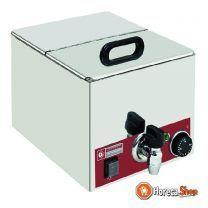 Elektrischer speisenwärmer, gn 1/2 - 150 mm
