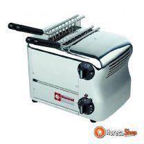 """Elektrischer toaster (croque-monsieur), 2 zangen """"silber"""""""