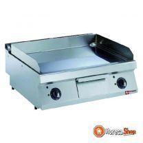 El.vlakke gechromeerde kookplaat -top-