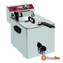 Elektrischer frittiertisch modell 10 liter wasserhahn