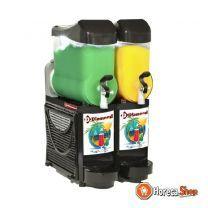Granita & sorbet machine/distributor 2x 10 l