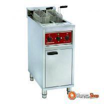 Electrische friteuse 2x 10 lit op kast