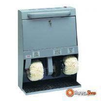 Schoenpoets machine 3 borstels