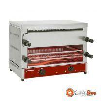 """Elektrischer toaster-salamander gn 1/1, 2 stockwerke (520x320), mit """"quarz"""""""