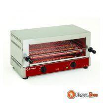 """Elektrischer toaster-salamander gn 1/1, 1 etage (520x320), mit """"quarz"""""""