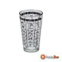 Mix glas 15cm