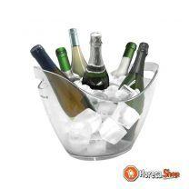 Wijnkoeler helder (cap.6st.)