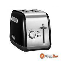 Toaster 2-teilig schwarz