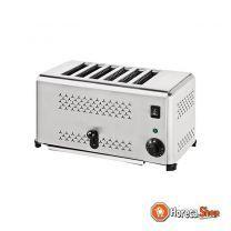 Toaster 6 stk