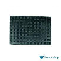 Barmat zwart 30x45 cm