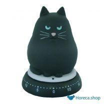 Kookwekker kat zwart