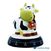 Kookwekker koe wit/zwart