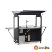 Coolrolly multifunctionele mobiele pop-up tap 1850x750x(h)2040mm