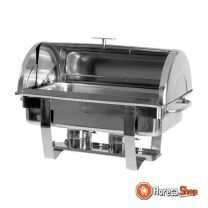 Chafing schotel met roll-top cover 1/1 gn model dennis
