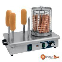 Hot dog koker / warmer model hw 2
