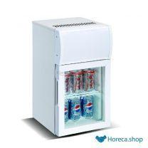 Mini glasdeur koelkast 20l
