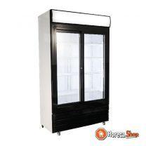 Koelkast schuif glasdeuren bez-780 sl
