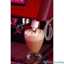 Apparaat voor cappuccino op lans