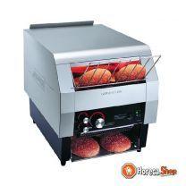 Toaster mit horizontalem riemen 800 scheiben / stunde
