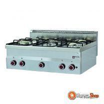 Cuisinière à gaz 5 feux -top-