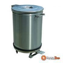 Vuilnisbak deksel met pedaalbediening - 95 liter