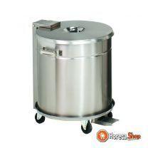 Vuilnisbak deksel met pedaalbediening - 50 liter