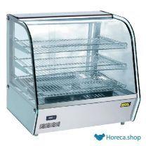 Heiße vitrine 120ltr