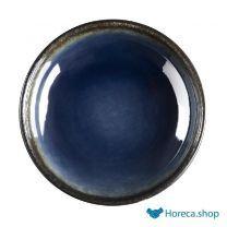 Nomi ronde tapasdipschaaltjes blauw-zwart 9,5cm
