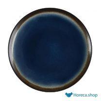 Nomi ronde tapascoupeborden blauw-zwart 25,5cm