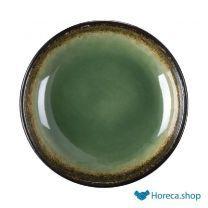 Nomi ronde tapasdipschaaltjes groen-zwart 9,5cm