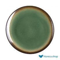Nomi ronde tapascoupeborden groen-zwart 25,5cm
