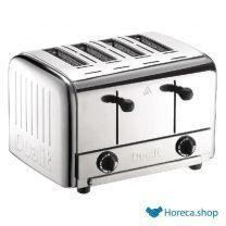 Grille-pain professionnel à 4 fentes  en acier inoxydable 49900