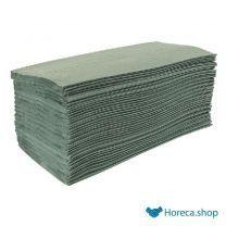 Z-gevouwen handdoeken 1-laags groen