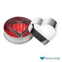 Stekerdoos hartvorm glad