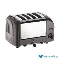 Vario 4-slot toaster grau 40348