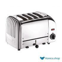 Vario 4-slot toaster edelstahl 40352
