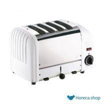 Vario 4-slot toaster weiß 40355