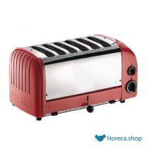 Vario toaster 6 slots rot 60154