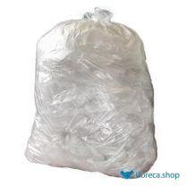 Grote zware kwaliteit vuilniszakken transparant