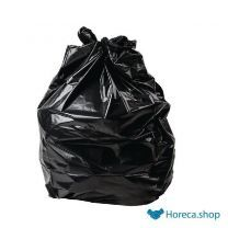 Jantex standaard kwaliteit vuilniszakken zwart 200 stuks