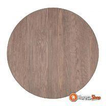 Bolero rond tafelblad vintage wood 60cm