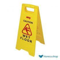 """Waarschuwingsbord """"wet floor"""""""