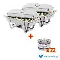 Offre spéciale x2 plat de friction  milan avec gel de pâte à carburant  x72