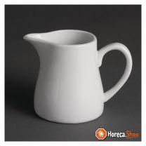Olympia whiteware melkkannetjes met handvat