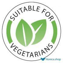 Vogue voedseletiketten 'vegetarisch' (1000 stuks)