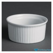 Whiteware ramekins 7cm