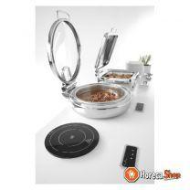 Inductie kookplaat 800w voor inbouw+chafing dish 245mm