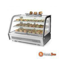 Broodjes-dispenser rvs voor 7 broodjes 475x105x60 mm